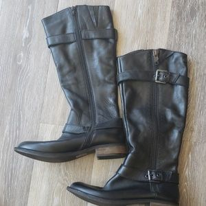 Steve Madden Leather Moto 9